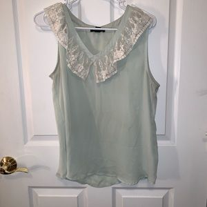 Lace Forever 21 Top *Has Stain as Pictured*